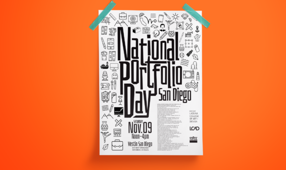 National Portfolio Day Poster